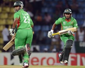 Tamim Iqbal (L) and Mohammad Ashraful (R) ICC Twenty20 2012