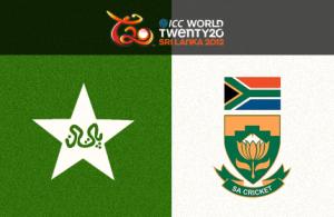 Pakistan vs South Africa, ICC World Twenty20 - 2012 Match Report