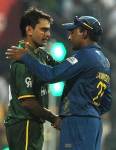 Mohammad Hafeez (L) and Mahela Jayawardene (R) ICC Twenty20 2012